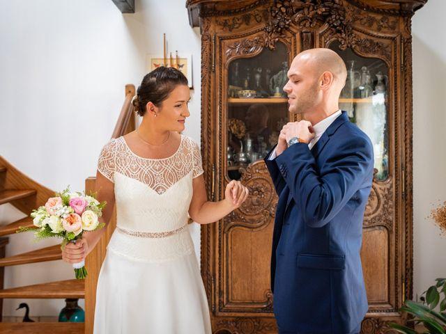 Le mariage de Benjamin et Odile à Caugé, Eure 22