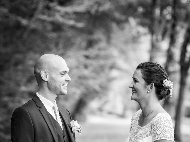 Le mariage de Benjamin et Odile à Caugé, Eure 25