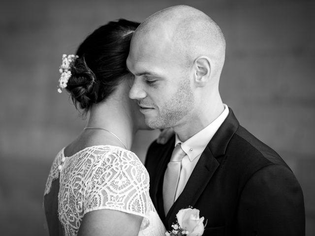 Le mariage de Benjamin et Odile à Caugé, Eure 28