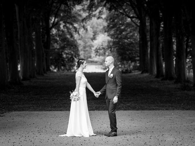 Le mariage de Benjamin et Odile à Caugé, Eure 2