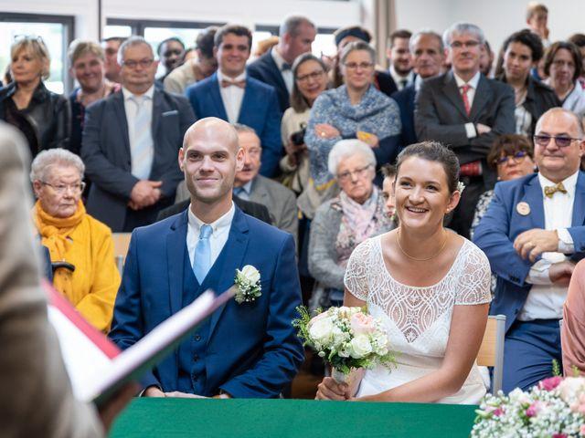 Le mariage de Benjamin et Odile à Caugé, Eure 34