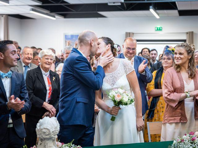 Le mariage de Benjamin et Odile à Caugé, Eure 36