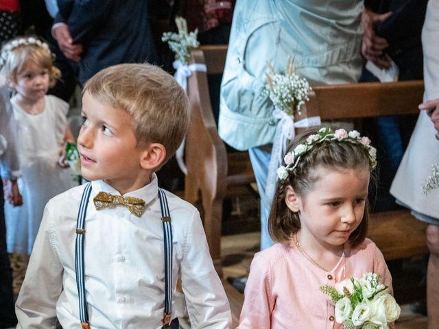 Le mariage de Benjamin et Odile à Caugé, Eure 45