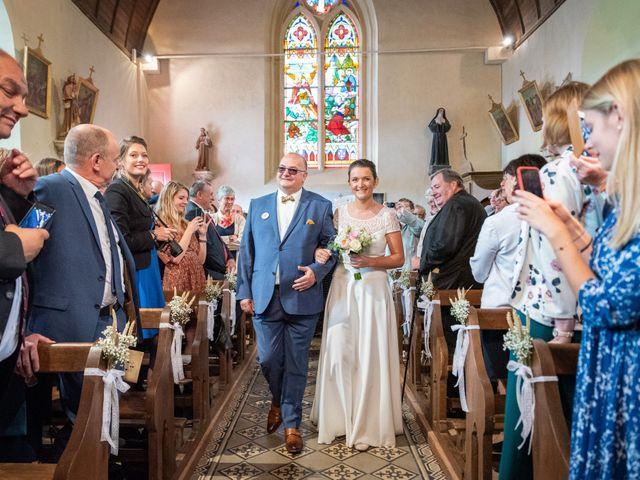 Le mariage de Benjamin et Odile à Caugé, Eure 46