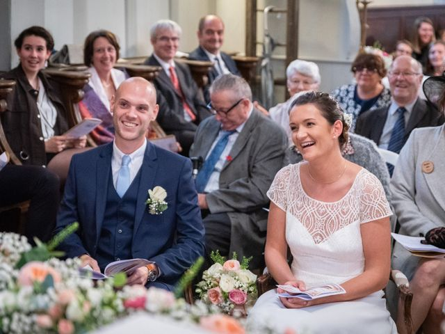 Le mariage de Benjamin et Odile à Caugé, Eure 48
