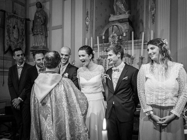 Le mariage de Benjamin et Odile à Caugé, Eure 51