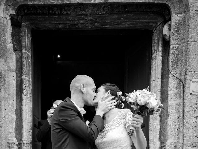 Le mariage de Benjamin et Odile à Caugé, Eure 54