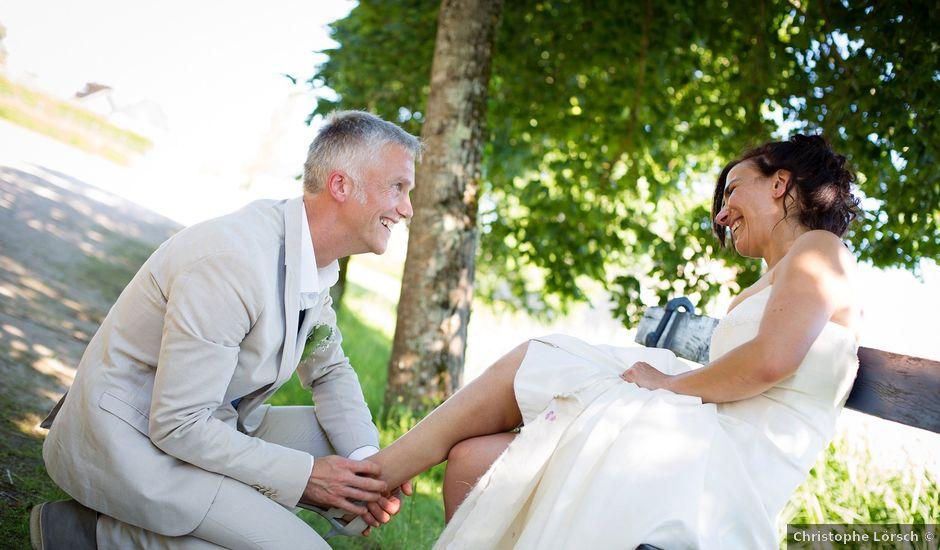 Le mariage de Edouard et Elisabeth à La Bussière, Loiret