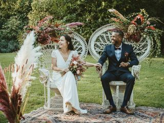 Le mariage de Hilda et Valério