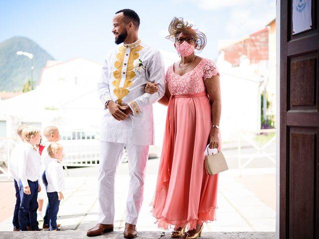 Le mariage de Rodny et Cannelle à Les Trois-Îlets, Martinique 12