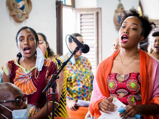 Le mariage de Rodny et Cannelle à Les Trois-Îlets, Martinique 16