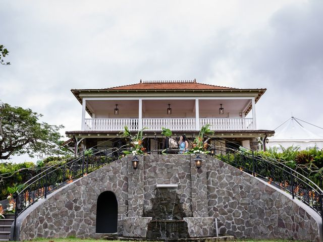 Le mariage de Rodny et Cannelle à Les Trois-Îlets, Martinique 36