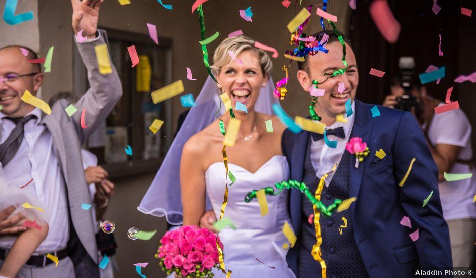 Le mariage de Fred et Marie à Cuq-Toulza, Tarn