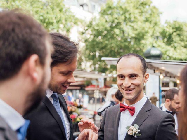 Le mariage de Slim et Diane à Paris, Paris 11