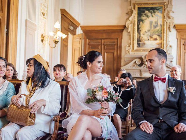 Le mariage de Slim et Diane à Paris, Paris 13