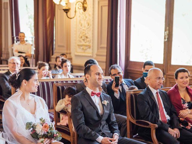 Le mariage de Slim et Diane à Paris, Paris 14