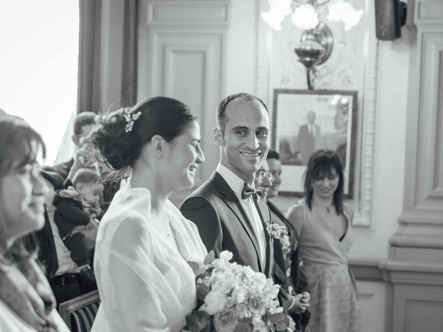 Le mariage de Slim et Diane à Paris, Paris 15
