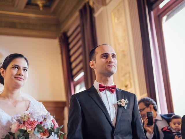 Le mariage de Slim et Diane à Paris, Paris 16