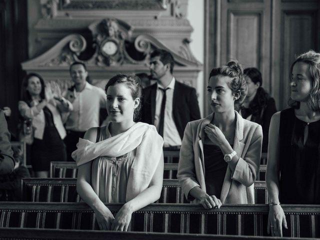 Le mariage de Slim et Diane à Paris, Paris 17