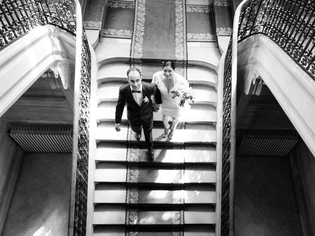 Le mariage de Slim et Diane à Paris, Paris 18