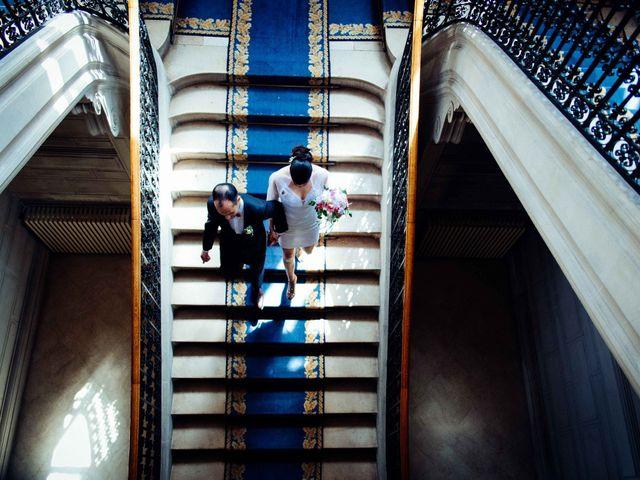 Le mariage de Slim et Diane à Paris, Paris 19