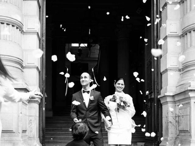 Le mariage de Slim et Diane à Paris, Paris 20