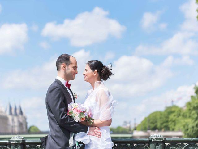 Le mariage de Slim et Diane à Paris, Paris 24
