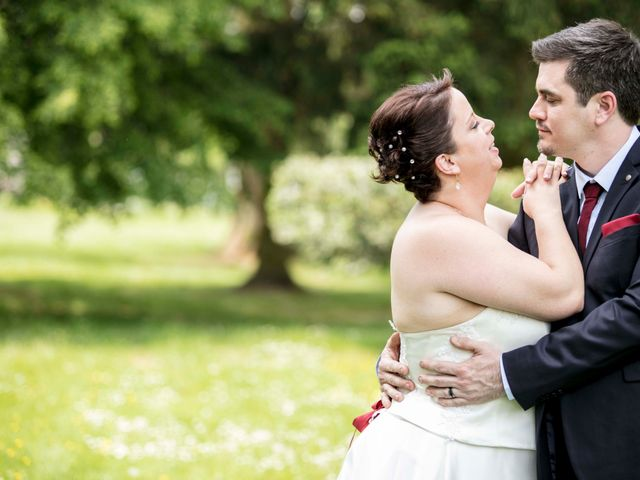 Le mariage de Julian et Kattel à Langensoultzbach, Bas Rhin 3