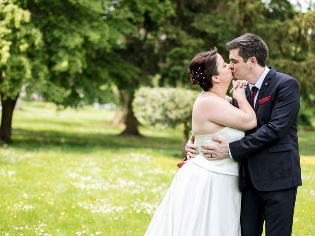 Le mariage de Julian et Kattel à Langensoultzbach, Bas Rhin 5