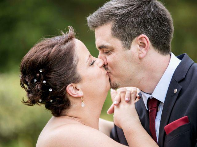 Le mariage de Julian et Kattel à Langensoultzbach, Bas Rhin 6