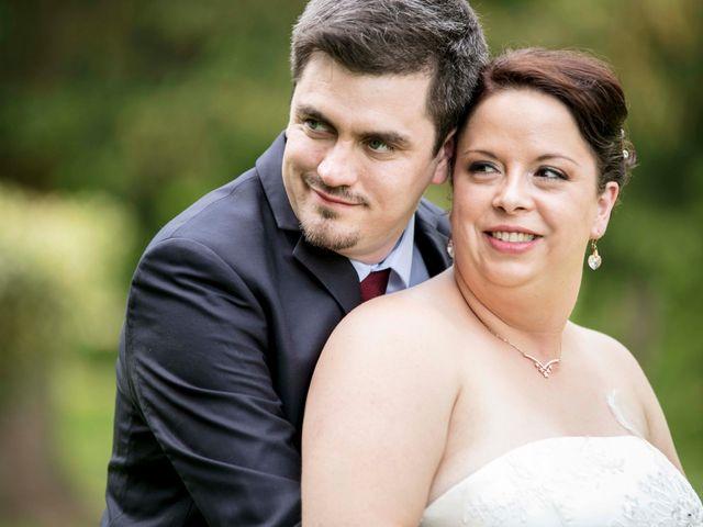 Le mariage de Julian et Kattel à Langensoultzbach, Bas Rhin 8