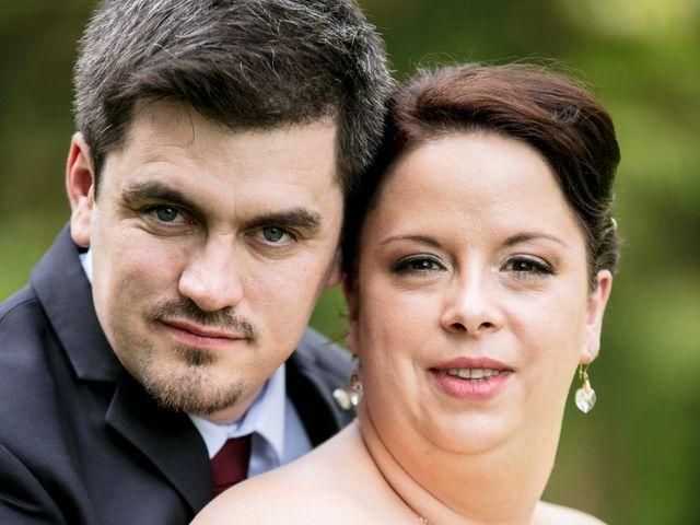 Le mariage de Julian et Kattel à Langensoultzbach, Bas Rhin 9