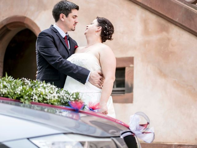 Le mariage de Julian et Kattel à Langensoultzbach, Bas Rhin 28
