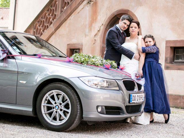 Le mariage de Julian et Kattel à Langensoultzbach, Bas Rhin 31
