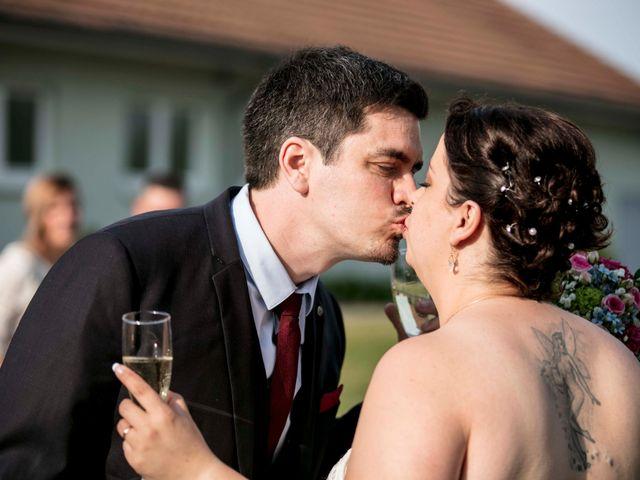 Le mariage de Julian et Kattel à Langensoultzbach, Bas Rhin 33