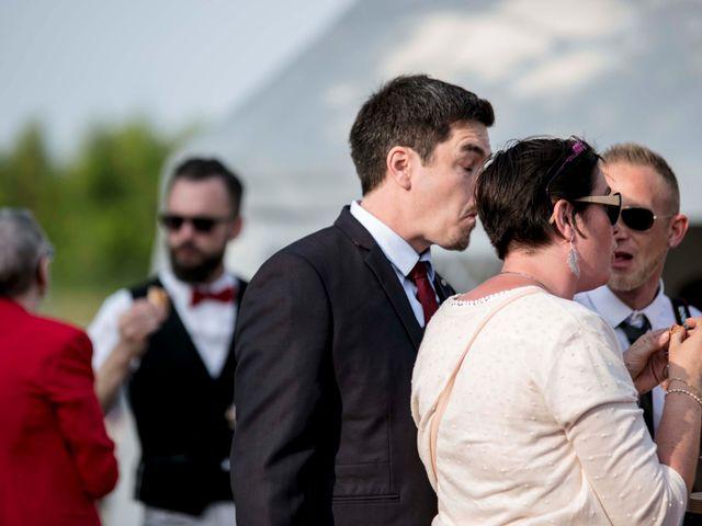 Le mariage de Julian et Kattel à Langensoultzbach, Bas Rhin 121