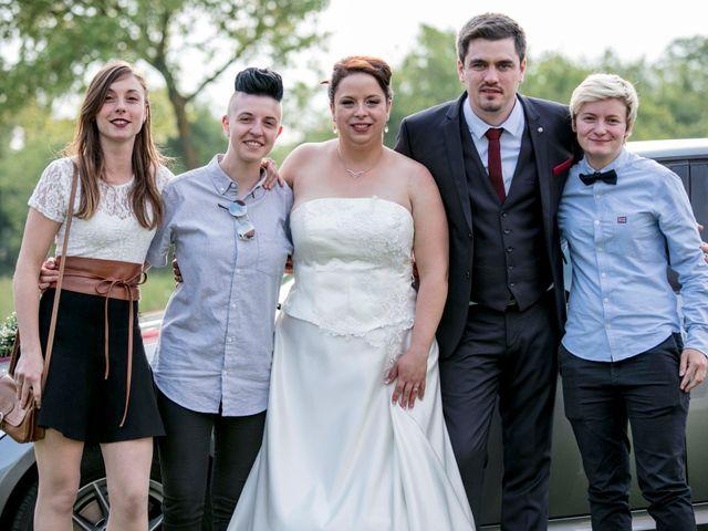 Le mariage de Julian et Kattel à Langensoultzbach, Bas Rhin 135
