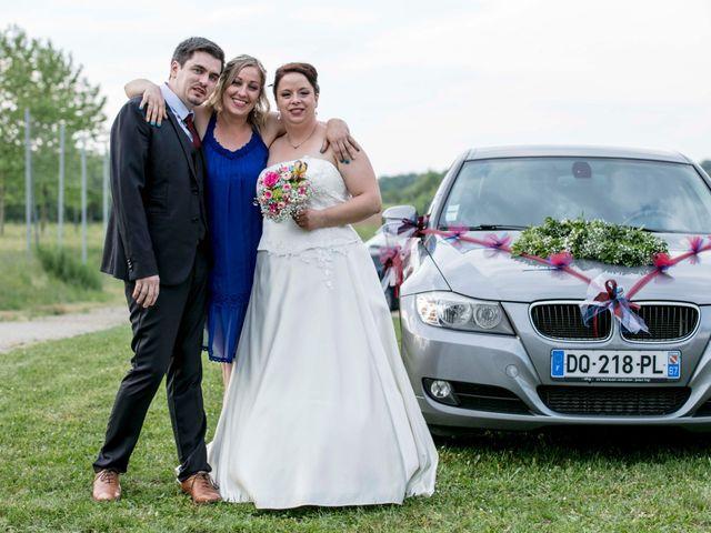 Le mariage de Julian et Kattel à Langensoultzbach, Bas Rhin 145