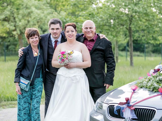 Le mariage de Julian et Kattel à Langensoultzbach, Bas Rhin 149