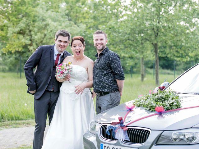 Le mariage de Julian et Kattel à Langensoultzbach, Bas Rhin 151