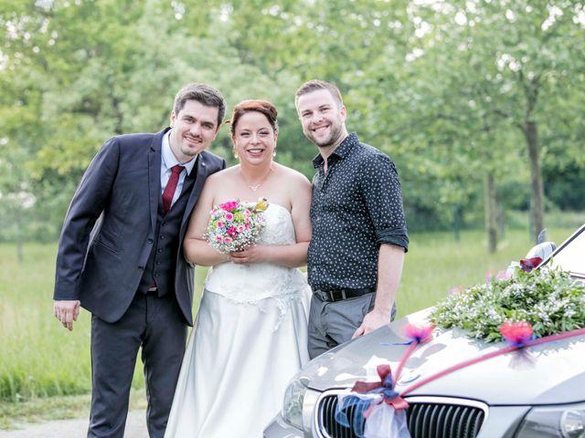 Le mariage de Julian et Kattel à Langensoultzbach, Bas Rhin 152