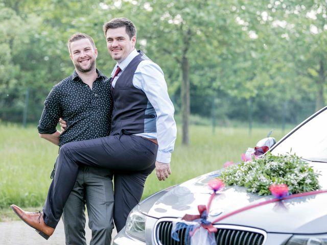 Le mariage de Julian et Kattel à Langensoultzbach, Bas Rhin 154