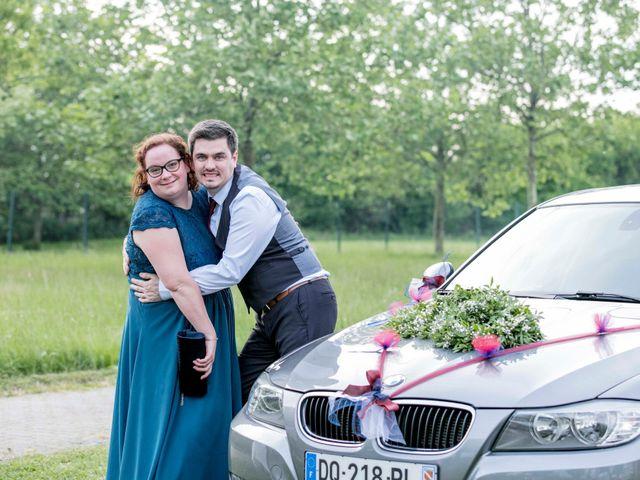 Le mariage de Julian et Kattel à Langensoultzbach, Bas Rhin 157