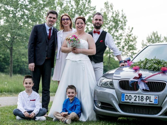 Le mariage de Julian et Kattel à Langensoultzbach, Bas Rhin 160