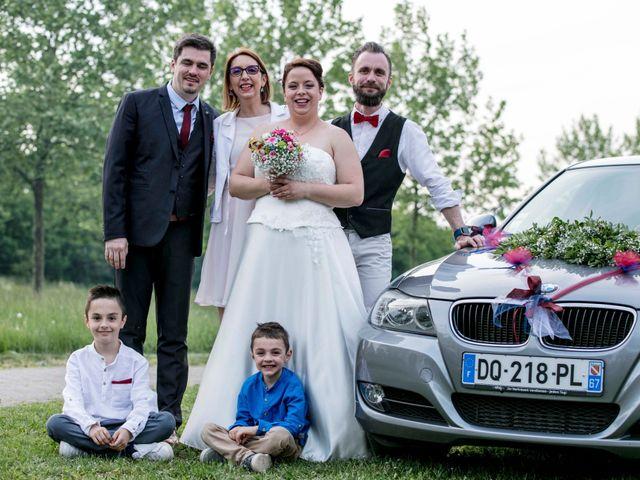 Le mariage de Julian et Kattel à Langensoultzbach, Bas Rhin 161