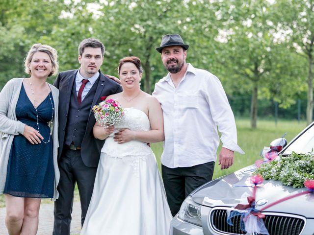 Le mariage de Julian et Kattel à Langensoultzbach, Bas Rhin 162