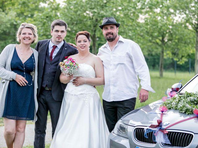 Le mariage de Julian et Kattel à Langensoultzbach, Bas Rhin 163