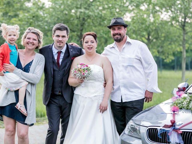 Le mariage de Julian et Kattel à Langensoultzbach, Bas Rhin 165