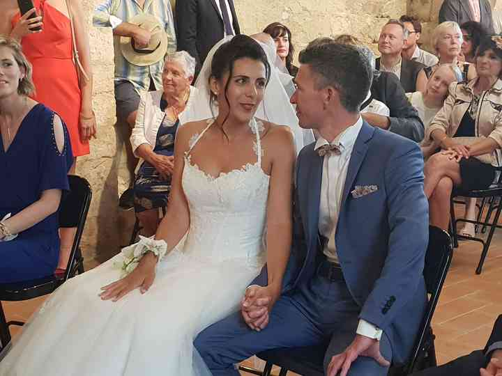 Le mariage de Verena et Julien