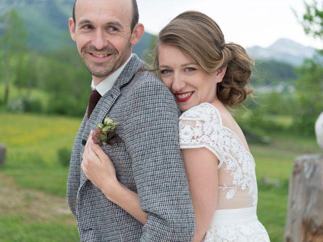 Le mariage de Fred et Sandra à Lans-en-Vercors, Isère 21